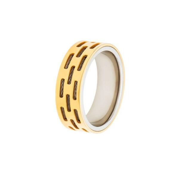 купить кольцо из стали