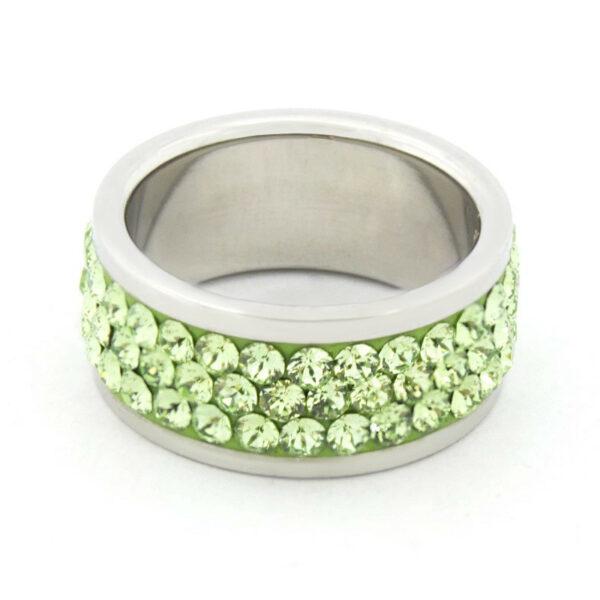 Кольцо с кристаллами Swarovski KS3